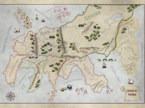 The Map of Thea